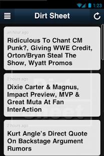 Dirt Sheet- screenshot thumbnail
