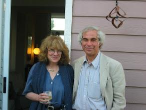 Photo: Professors Elizabeth Loftus and Mark Machina