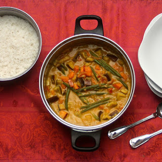 Southern Indian Vegetable Curry.