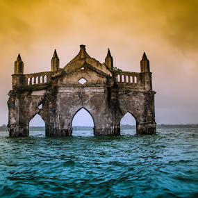 The Holy Rosary Church Series-6 by Vijayanand Kandasamy - Buildings & Architecture Decaying & Abandoned ( decaying church,  )