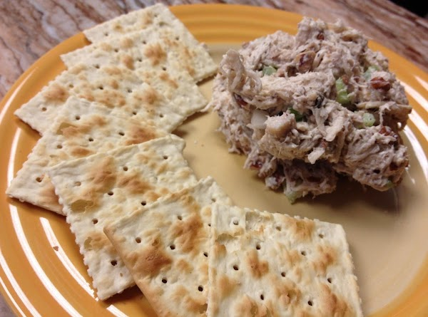 Cathie's Toasted Pecan Chicken Salad Recipe