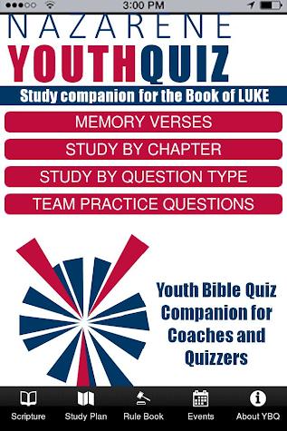 Youth Bible Quiz 16 Screenshot