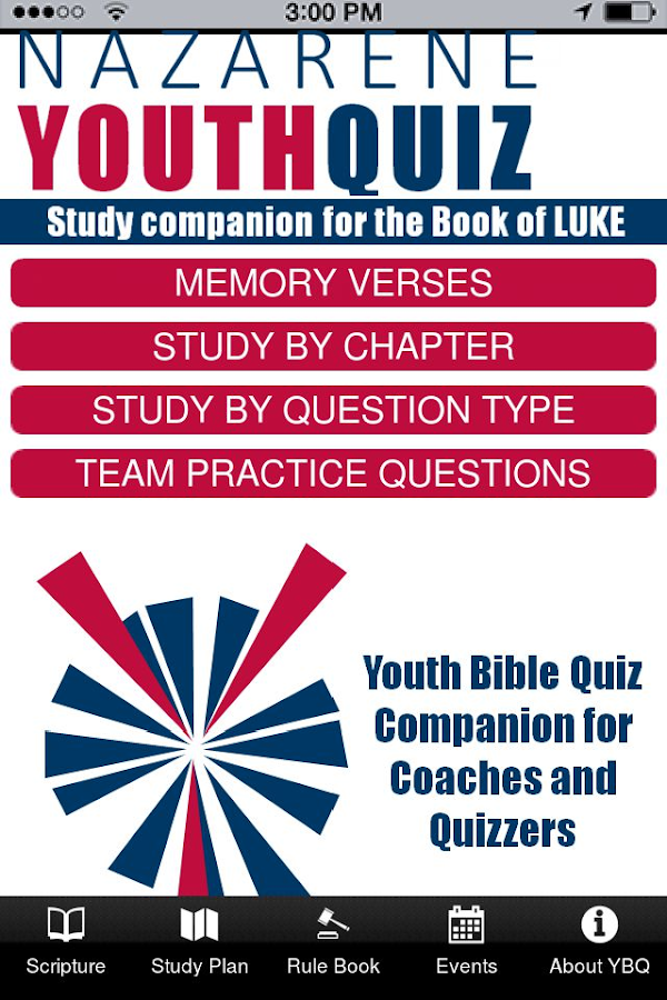 Youth Bible Quiz 16- screenshot