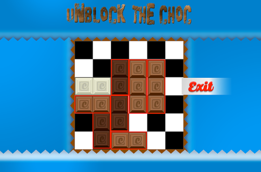 Unblock the choc