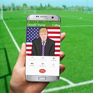 President Donald Trump Calling screenshot