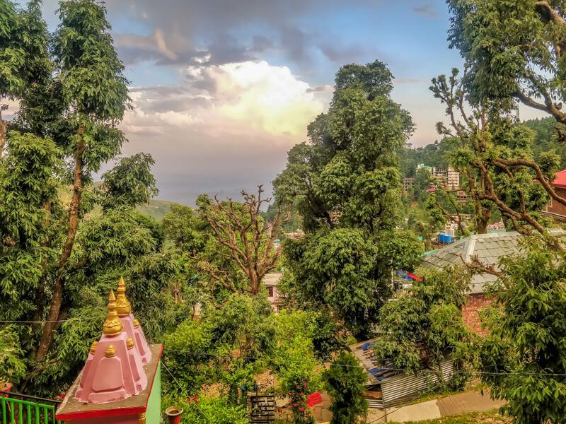 view+from+homestay+dharamshala+bhagsunag+himachal+pradesh