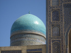 Photo: Bukhara - Kalon Madrassa