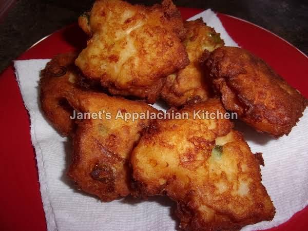 Fried Potato Salmon Patties Recipe