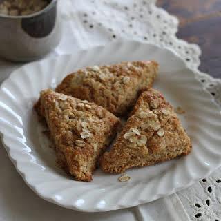 Oatmeal & Brown Sugar Scones.