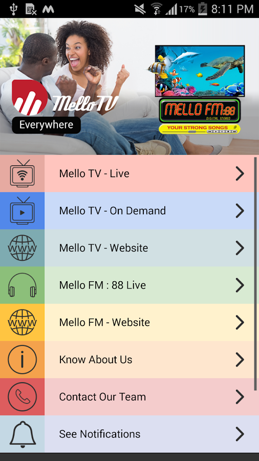 MELLO Digital- screenshot
