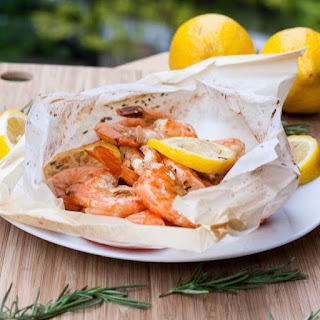 Daring Cooks July 2012 - New Orleans Style Shrimp en Papillote