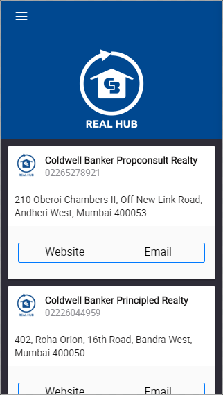 CB Real Hub- screenshot