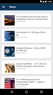 Elisa Kirja- screenshot thumbnail