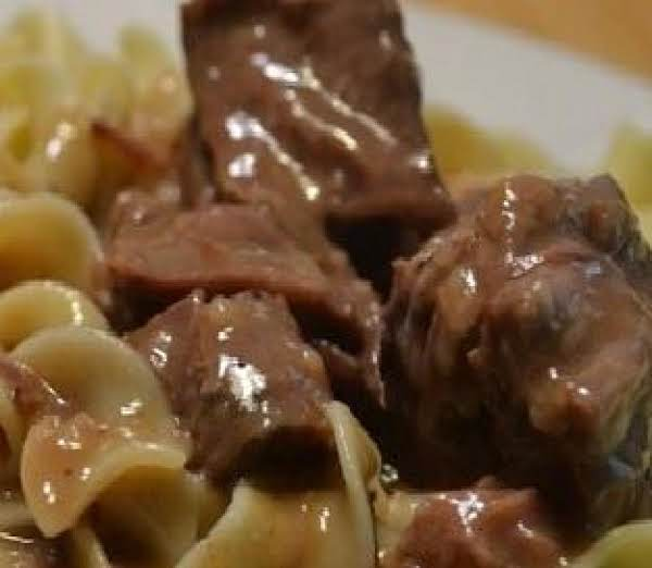 Easy Oven Beef And Noodles-mom's (1970) Recipe