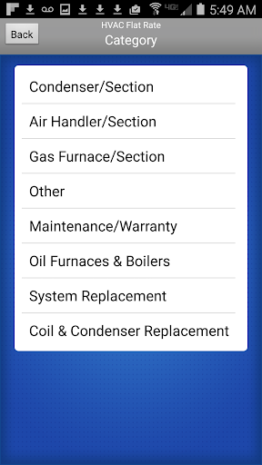 HVAC Flat Rate Invoice 7.25 screenshots 2
