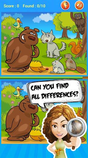解謎必備免費app推薦|Find Differences For Kids線上免付費app下載|3C達人阿輝的APP