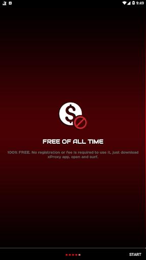 X Web Proxy Unblock Sites 3.0 screenshots 4