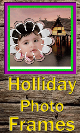 Holliday Photo Frames