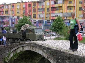 Photo: Colourful buildings in Tirana