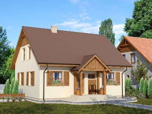 projekt Domek Ciepły 012 ET 50
