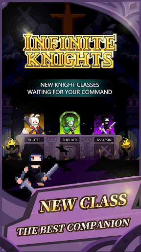 Infinite Knights - Turn-Based RPG apktram screenshots 7
