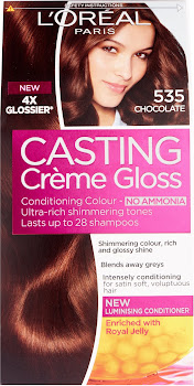L'Oreal Paris Casting Creme Gloss Conditioning Colour - 535 Chocolate