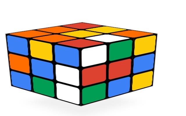 Hip hop rubik's cube