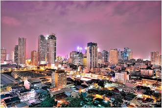 Photo: Pasig City Night Shot Philippines One Single HDR file
