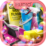 Room Cleaning Hidden Objects Icon