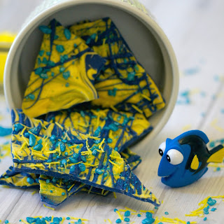 Finding Dory Candy Bark