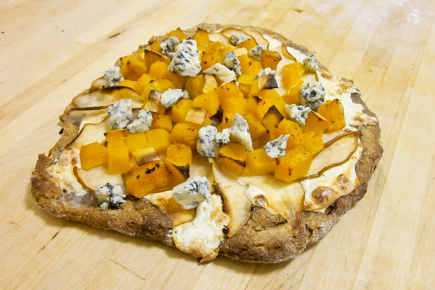Photo: Butternut Squash Pizza Recipe: http://www.thedailymeal.com/7-creative-butternut-squash-recipes-slideshow#7