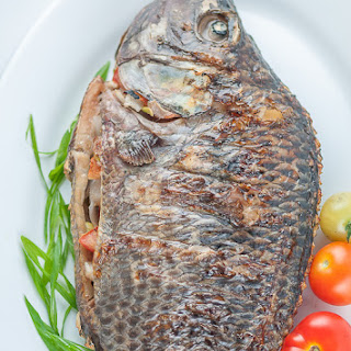 Grilled Stuffed Tilapia