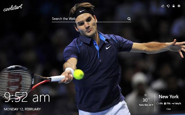 Tennis Stars Hd Wallpapers New Tab Theme