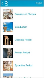 Rhodes iTour Travel Guide - screenshot thumbnail