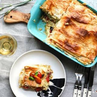 Phyllo Pastry Vegetarian Recipes.