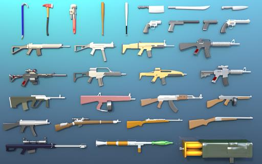 Télécharger Pixel Smashy War - Gun Craft APK MOD (Astuce) screenshots 1
