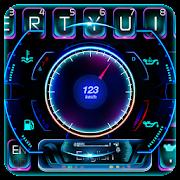 Racing Car Hologram Keyboard