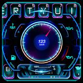Tải Racing Car Hologram Keyboard miễn phí