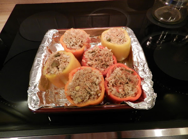 Gobble Up Stuffed Peppers Recipe