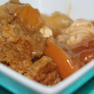 Peaches & Cream Cobbler