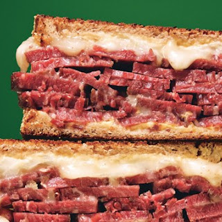 Grilled Corned Beef and Fontina Sandwiches Recipe