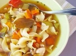 Homemade Chicken Noodle Soup Recipe