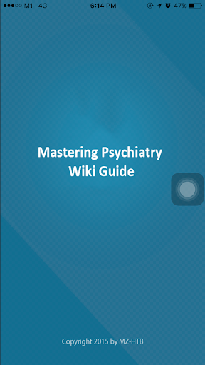Mastering Psychiatry WikiGuide