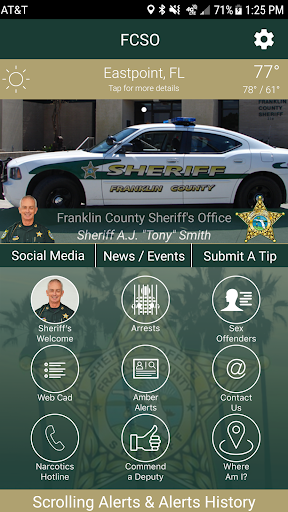 Franklin County Sheriff (FL) screenshot 1