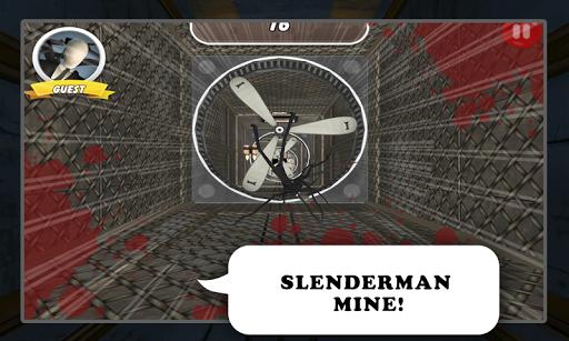Falling Distaste Slenderman