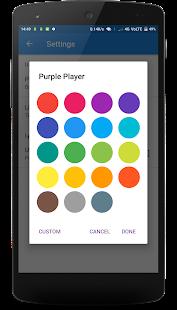 Purple Player - náhled