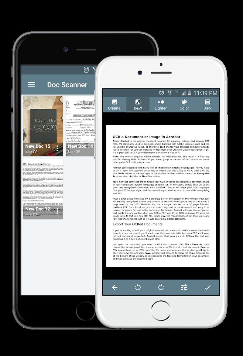Document Scanner - PDF Creator Screenshot 4