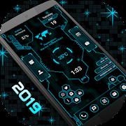 Hi-tech Launcher 2 - 2019, Future of UI, Free