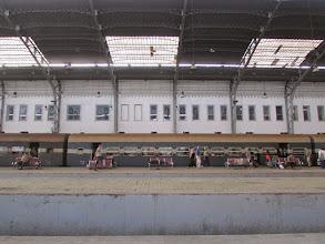 Photo: saliendo de el cairo, estación de trenes