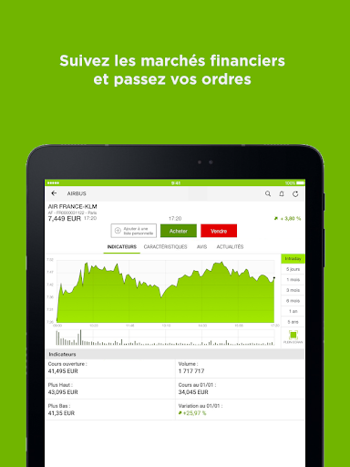 Fortuneo, mes comptes banque & bourse en ligne 8.3.3 Screenshots 11